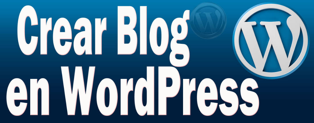 Instala wordpress para tu blog